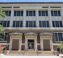 Old Taylor County Courthouse Detail (Abilene, Texas) (courthouselover) Tags: texas tx courthouseextras taylorcounty abilene texaspanhandleplains westtexas