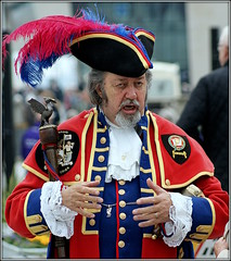 Terry Stubbing (* RICHARD M (Over 5 million views)) Tags: terrystubbing liverpooltowncrier towncrier candid street portraits portraiture candidportraits candidportraiture streetportraits streetportraiture liverpool merseyside europeancapitalofculture capitalofculture unescomaritimemercantilecity unescocityofmusic oldbrit england unitedkingdom uk greatbritain britain britishisles ceremonialstaff britishtraditions tricornhat feathers scarlettunic goldbraid goldbuttons lace lacecuffs frillycuffs pierhead beards bearded whiskers bewhiskered characters celebrity celebrities english oldeworlde quaint englishness british britishness costumes traditionalcostumes woodenstaff cityofliverpool cuffs redwhiteandblue bulldogbreed towncryer meeterandgreeter theloyalcompanyoftowncriers liverbird