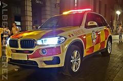 BMW X5 SAMUR PROTECCION CIVIL (alberto vtr) Tags: coche car samur proteccion civil bmw x5 ambulancia emergencias 112 emergency luces leds xenon preventivo