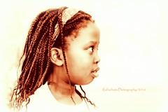Zukunft, ich komme! (Explore # 234) (rafischatz... www.rafischatz-photography.de) Tags: person child girl africangirl gladyse sepia hk pentax k3