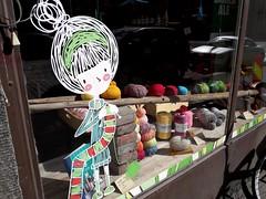 Wool shop, Hakaniemi, Helsinki (MacP2007) Tags: hakaniemi helsinki woolshop finland