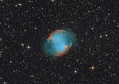Messier 27 - Dumbbell Nebula (Photonen-Sammler) Tags: messier27 messier 27 dumbbell nebula planetary universe deep sky astronomy astrophotography 10inch newtonian telescope equatorial mount az eq6 gt lacerta autoguider