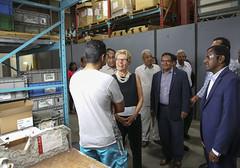 IMG_1006  Premier Kathleen Wynne toured RAM Plastics in Scarborough. (Ontario Liberal Caucus) Tags: scarborough industry thiru smallbusiness business