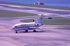 "Boeing, 727-14, XT-BBE, ""Government of Brkina Faso"", VHHH, Kai Tak, Hong Kong (Daryl Chapman Photography) Tags: xtbbe boeing 727 72714 government kaitak classic 18990 238 hongkong hkia hkg hongkonginternationalairport cheklapkok canon plane planes aviation planespotting arrival departure flight commercialaviation civilaviation great fly flying sky hongkongspotters aviationnut vhhh daryl chapman 1993 ouagadougou"