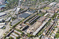 Former Tag Outlet site, 1730 W Wrightwood (YoChicago) Tags: chicago yochicago aerial helicopter 2016 tagoutlet 1730wwrightwood lincolnpark newconstruction apartments condos