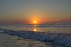Ocean sunrise (AppStateJay) Tags: nikon d7100 nikkorafs35mmf18gdx sunrise pawleysisland sc southcarolina 2016 ocean beach morning waves
