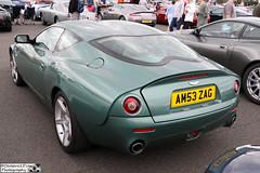 2004 Aston Martin DB7 Zagato (cerbera15) Tags: silverstone classic 2016 aston martin db7 zagato
