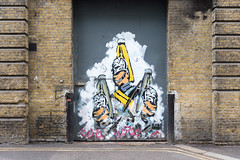 Endless street art (mahtieuc) Tags: artderue arturbain endless london shoreditch streetart urbanart londres angleterre royaumeuni gb gardenwalk