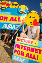 Victory - Internet for all (Avaazorg) Tags: brussels belgium avaaz net neutrality netneutrality europe eu