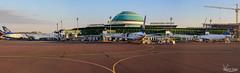 Astana airport (Val Guid'Hall) Tags: kyrghyzstan kyrghyz bichkek osh karakol kotchkor naryn silk road tcholpon alta yurt lada asia central rainbow ala kl arslanbob mosk islam muslim tach rabat caravanserail kazarman altyn arashan holy trinity orthodox wrestling song sunset landscape landscapes victory square astana airport manas