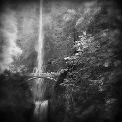 Multnomah Falls (AndyM.) Tags: hipstamatic