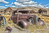 Classic car rusting away at Bodie (Alaskan Dude) Tags: travel california bodie bodiestatehistoricalpark ghosttown ghosttowns landscape scenery hdr 5photosaday outdoor