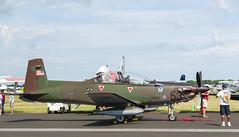N69XC Pilatus PC-9, Oshkosh (wwshack) Tags: airventure2016 eaa eaaairventure kosh osh oshkosh pc9 pliatus slovenianaf usa unitedstates whittmanregional wisconsin n69xc piran 53
