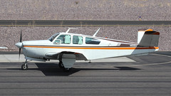 Beech A35 Bonanza N8588A (ChrisK48) Tags: 1949 35 aircraft airplane beecha35 beechcraft bonanza dvt kdvt n8588a phoenixaz phoenixdeervalleyairport cnd2010