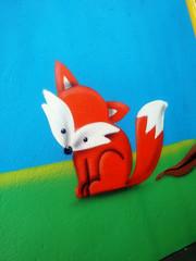 raposa (BENET - BNT) Tags: graffiti infantil escola spray bnt benet art arte custom work paint pintura