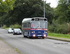 1037 (onthebeast) Tags: wythall bus museum maypole wmpte 30 wmt west midlands travel leyland national ii 1037 doc 37v 837 stevensons