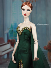 New Dress for sell EFDD (eifel85, eifel doll dress) Tags: fashion royalty new dress ebay shop httpwwwebaycomusreifeldolldress fashionroyalty fashions fashiondoll faceup fr fr2 eveningdress silkstone gown brand eifel85 efdd eifeldolldress handmade ooak beadwork dollmakeup couture beads work huate eifel costume w club