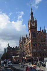 DSC_4156 (photographer695) Tags: london bus route 205 st pancras railway station