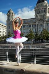 DSC06319 (liverpix) Tags: cleo dog performing anthonywalsh photowalk 500px liverpool pierhead liverbuilding ballerina ballet