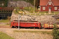 Berekvam H0  (16) (Rinus H0) Tags: modelspoorexpo expo 2016 leuven belgi belgium belgique louvain mstdemaaslijn berekvam h0 187 schaal gauge scale norway norwegian modeltreinen modelrailway modelleisenbahn modelspoor modeltrains trains cars trucks wagon nature scenery mountain