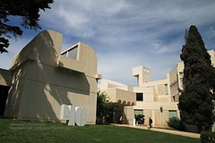 Barcelona, Museum Fundaci Joan Mir (blauepics) Tags: spain spanien espaa katalonien catalunya catalua city stadt house haus architecture architektur gebude building museum fundaci joan mir art kunst
