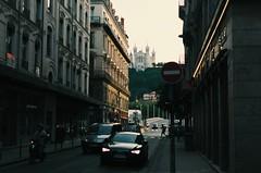 Lyon (Lucas Marcomini) Tags: travel wanderlust architecture lucasmarcomini street streetphotography sunset goldenhour cars buildings mountains church wander urban city life explora explore exploration exploring wonder awe backpacking backpack french europe european