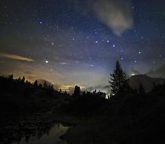 Ubi Major (Robyn Hooz) Tags: ursa major orsamaggiore polare polaris astronomy lagazuoi dolomiti notte night sky nuvole clouds