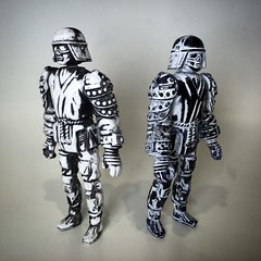 Samurai. In Space. (skipthefrogman) Tags: skipbro custom cast bootleg art toy action figure