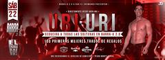 Uri Uri - Flyer - Barra -K & Bar el Chumango. (Javo Graphics) Tags: uriuri chile rapanui puntaarenas chumango barrak flyer