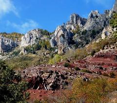 l'Ilion (b.four) Tags: calcaire pliterouge montagne montagna mountain ilion hautcians alpesmaritimes beuil