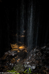 The Golden Void (bruce.e.mcintosh) Tags: waterfall springbrook queensland australia au qld bushwalk nature artistic gold fall mysterious hawkwind dark light glow serenity brisbane landscape geotagged shadow nikon d750 nikkor natural naturallight inspired