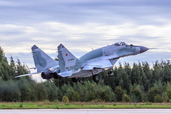 MiG-29SMT (RealHokum) Tags: mikoyan mig29smt fighter fulcrum russianairforce airshow aircraft airplane army2016 kubinka ef200400