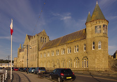 D14093.  Part of Aberystwyth University, Ceredigion, Mid-Wales. (Ron Fisher) Tags: aberystwyth ceredigion cymru wales midwales university gb greatbritain uk unitedkingdom pentax pentaxkx building architecture