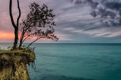 Ostsee bei Warnemnde (U Kersting) Tags: mecklenburg warnemnde ostsee sunset vorpommern baltic sea sonnenuntergang germany nikond300s
