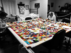 QUILTING BEE AT GILBERT HISTORICAL MUSEUM (Visual Images1) Tags: quilt people gilbert arizona
