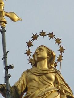 Madonnina del Duomo di Milano - Sorridente