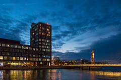 Blue Hour in the City (Infomastern) Tags: malm studio universitetsbron bluehour bltimmen bridge bro building byggnad cloud dusk sky skymning exif:model=canoneos760d geocountry camera:make=canon geocity camera:model=canoneos760d exif:aperture=35 exif:focallength=18mm geolocation exif:lens=efs18200mmf3556is geostate exif:isospeed=3200 exif:make=canon