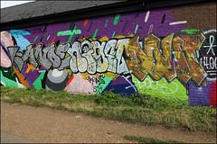 Anoe / Nigel / Dowt (Alex Ellison) Tags: nigel tnf dowt dfn anoe eastlondon urban graffiti graff boobs