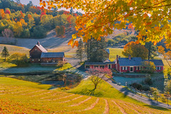 ANOTHER VIEW OF SLEEPY HOLLOW (jlucierphoto) Tags: foliage fall autumn vermont outdoor tree valley mountain frost morning pomfret woodstock