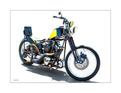 yellow belly... (Stu Bo.. tks for 8 million views) Tags: bobber kustom killer kool motorcycle motorcycleart dreambike ride rebel sbimageworks attitude wheels warrior