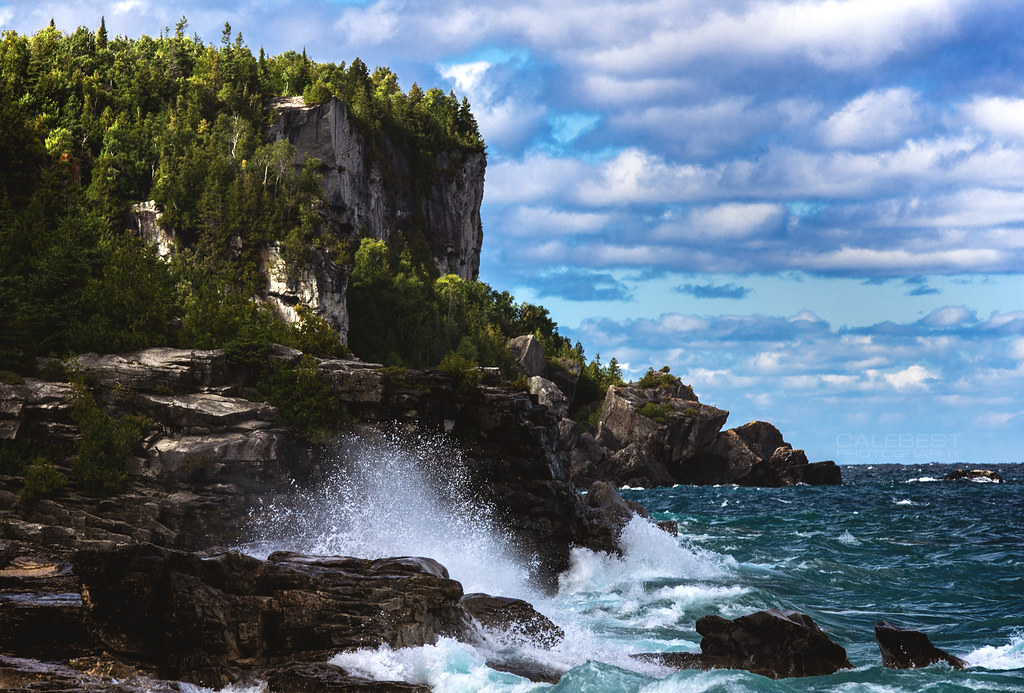 The world 39 s best photos of georgianbay and wind flickr for Landscaping rocks windsor ontario
