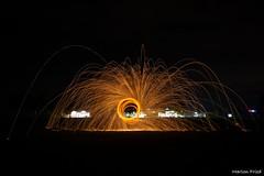 DSC_2548 (Marlon Fried) Tags: light painting lightpainting lichtmalerei langzeit colors nacht night funken sparks