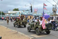 2016-09-17: American's On Tour (psyxjaw) Tags: chatham dockyard forties event salutetotheforties kent 40s reenactment historic