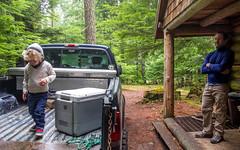 DSCF4325 (LEo Spizzirri) Tags: bevin morgan peter odin huck huckleberry shug cabin northwest seattle forest pacific mushroom moss josh betsy ladder green thick
