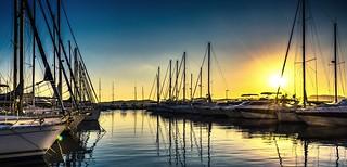 un soir au port