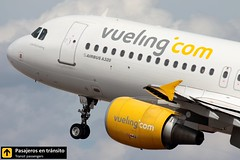 Airbus A320 Vueling Luke Sky Vueling (Ana & Juan) Tags: airplane airplanes aircraft aviation airport aviones airbus aviación a320 vueling takeoff departure spotting spotters spotter planes canon closeup alicante alc leal clouds