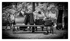 Belmore Park (bigboysdad) Tags: monotone monochrome ricoh gr street