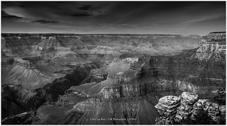 Grand Canyon Mono just after sunset, Arizona USA
