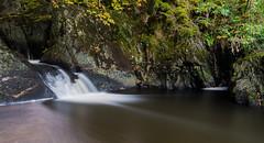 Silky. (Ian JonesMorris) Tags: water waterfalll autumn long exposure nikon d750 lee 10stop