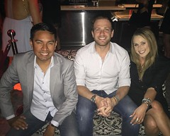 Now this is a #DREAMTEAM! Estevan, Eli and Michele reaping the rewards of hard work in #LasVegas! Did we mention we love what we do? #olninc (oln_inc) Tags: oln inc carson ca los angeles